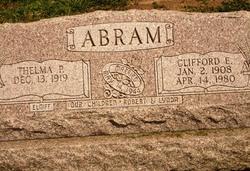 Clifford Earl Abram