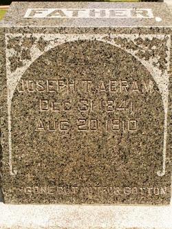 Joseph Thomas Abram
