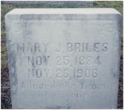 Mary J <i>J</i> Briles