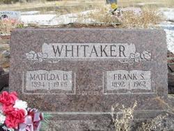 Matilda Ann <i>Darrington</i> Whitaker