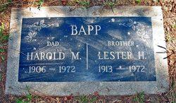 Lester Henry Bapp