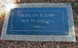 Mahlon Herbert Bapp