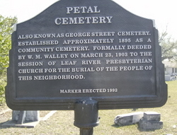 Petal Cemetery