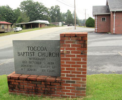 Toccoa Baptist Church Cemetery