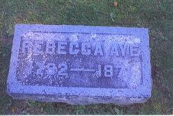 Rebecca <i>Hyde</i> Aye