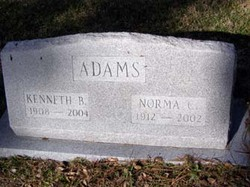 Mrs Norma Carolyn <i>Dotson</i> Adams