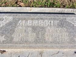 Ruby M Albrecht