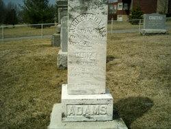 Mary E. <i>Landis</i> Adams