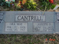 Ora Mae Cantrell