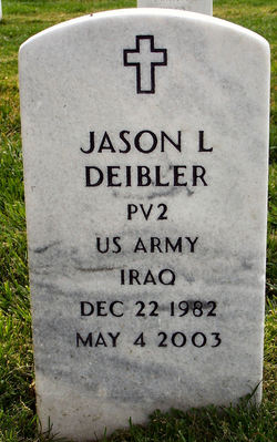 Pvt Jason Lee Deibler