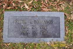 Ruthel <i>Young</i> Bohannon