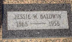 Jessie Walker <i>Bacon</i> Baldwin