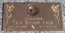 Ola <i>Brown</i> LaLa