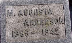 Mary Augusta <i>Wolcott</i> Anderson