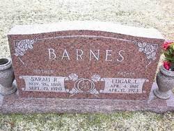 Sarah Rebecca <i>Estes</i> Barnes