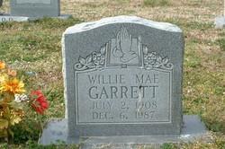 Willie Mae <i>Peele</i> Garrett