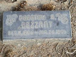 Dorothy Amanda Bezzant