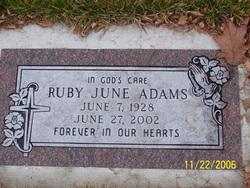 Ruby June Adams