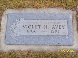 Violet <i>Stedman</i> Avey