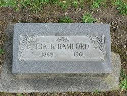 Ida Belle <i>Utley</i> Bamford
