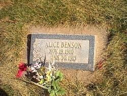 Alice Benson