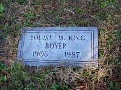 Louise M. <i>King</i> Boyer