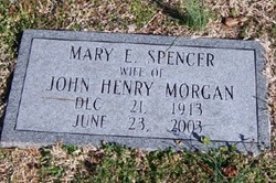 Mary E <i>Spencer</i> Morgan