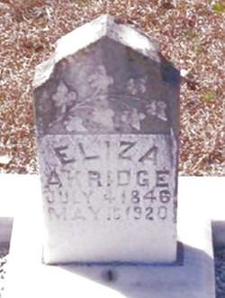 Eliza Arkridge