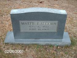 Mattie P Alcorn