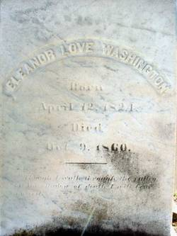 Eleanor Love <i>Selden</i> Washington