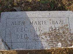 Alta Marie Baze