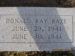 Donald Ray Baze