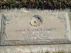 Almae <i>Hogenson</i> Bennett