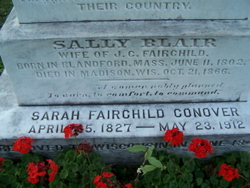 Sally <i>Blair</i> Fairchild