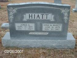 Anna M. <i>Marett</i> Hiatt