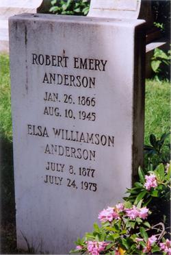 Elsa Rebecca <i>Williamson</i> Anderson