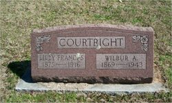 Lilly Frances <i>Sneed</i> Courtright