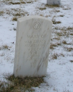 Mary G Beatty