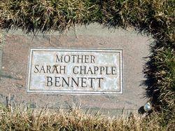 Sarah <i>Chapple</i> Bennett