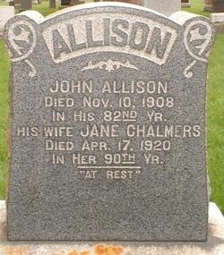 Jane <i>Chalmers</i> Allison