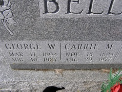Carrie May <i>Long</i> Bell