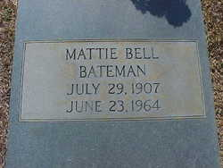 Mattie Bell Bateman