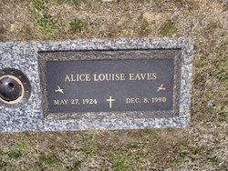 Alice Louise Eaves
