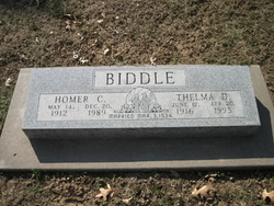 Thelma Dorrine <i>Simmons</i> Biddle