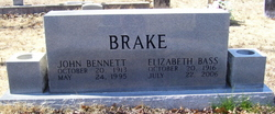 Elizabeth Bass Brake