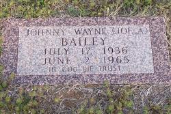 Johnny Wayne Joe A Bailey