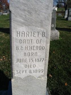 Harriet B Herod