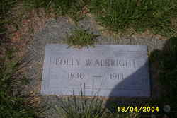 Mary Polly <i>Wright</i> Albright