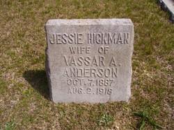 Jessie Brown <i>Hickman</i> Anderson