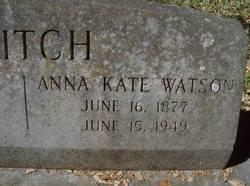 Anna Kate <i>Watson</i> Blitch